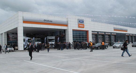 Otokoç İlk 4S Ford Trucks Tesisini Eskişehir'de Açtı