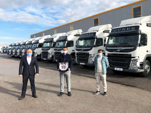Güneş Hafriyat Filosunu Volvo Trucks İle Güçlendirdi