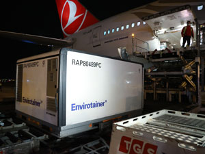 Turkish Cargo UNICEF'in Kovid-19 Aşılarını Taşıyor