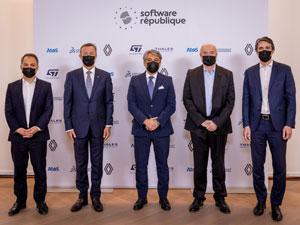 """Renault Grubu """"Software République"""" İçin İş Birliğine Gitti"""