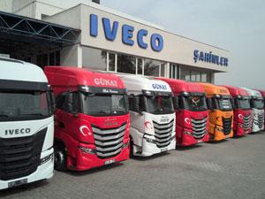 IVECO'dan Rengarenk Çekici Teslimatı