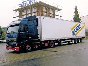 25 Years Krone Cool Liner Premium refrigerated trailers since 1996