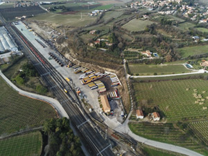 TX Logistik increases number of round trips to North Italy