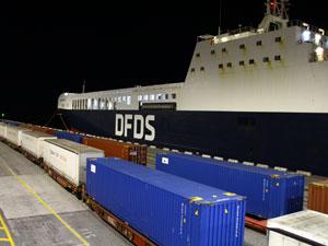 DFDS Nürnberg-Trieste Demiryolu Bağlantı Hattını Güçlendiriyor