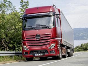 Mercedes-Benz Türk, Kamyon Sürücülerine Desteğini Sürdürüyor