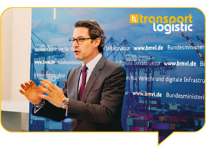 Final report transport logistic Online 2021: Invaluable information hub during dramatic times