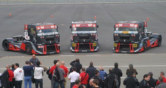 Renault Trucks Kamyon Yarışlarına Hazır