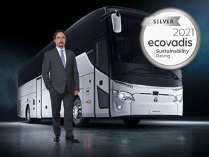 TEMSA'ya EcoVadis'ten Sürdürülebilirlik Ödülü
