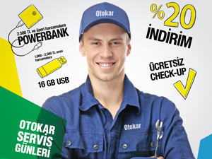 Otokar'ın 'Servis Günleri' 14 Haziran'da Başlıyor