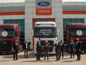 Ford Trucks'tan ARF Lojistik'e 15 Adet F-MAX Teslimatı