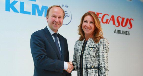 KLM ve Pegasus Güçlerini Birleştirdi