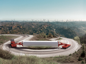 SCHEUERLE expands platform vehicle series through the K25 L: top stability and safety for loads with a high centre of gravity