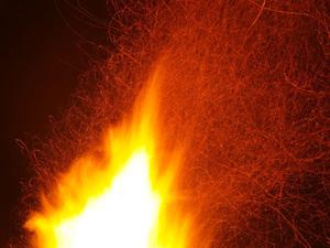 Lojistik Deposunda Yangın