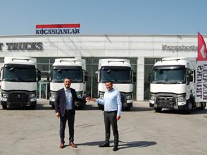 Aybir Lojistik İlk Renault Trucks Çekicilerini Filosuna Kattı