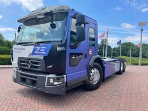Renault Trucks Yeni Elektrikli Şehir İçi Kamyonunu Tanıttı