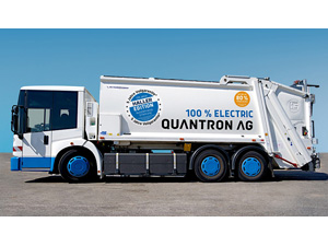Tested and confirmed throughout Germany: QUANTRON electric waste disposal vehicles convince. Now with 5 year warranty