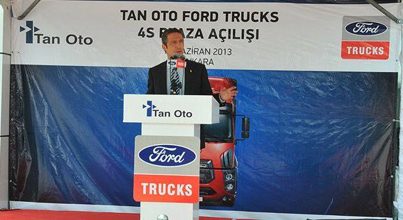 Ali Y. Koç Ankara'da İki Ford Truck Bayisinin Açılışını Yaptı