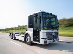 Mercedes-Benz eEconic'in Belediye Kullanımı İçin Tamamen Elektrikle Çalıştırma Denemeleri Tüm Hızıyla Devam Ediyor