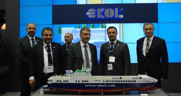 Ekol Transport Logistic Münih'e Çıkarma Yaptı