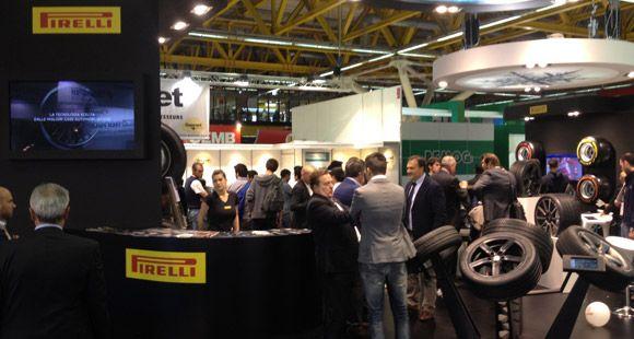Pirelli Formula Lastikleri Autopromotec Fuarı'nda