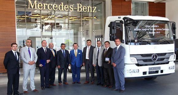 Pripa Lojistik Filosunu Mercedes-Benz ile Güçlendirdi