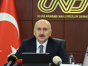 Ulaştırma ve Altyapı Bakanı Adil Karaismailoğlu UND'yi Ziyaret Etti