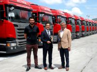 Scania'dan Büyük Teslimat