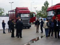 Scania 8x2 Roadshow'da Müşterileri İle Buluştu