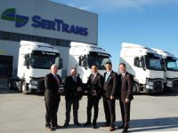Renault Trucks'tan Sertrans Logistics'e Dev Teslimat