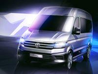 Yeni Volkswagen Crafter Gün Yüzüne Çıkıyor