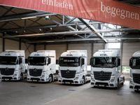Ekol Lojistik 150 Adet Mercedes-Benz Çekici Yatırımı Yaptı