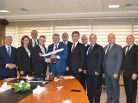 UTİKAD Yönetim Kurulu THY Genel Müdürü Bilal Ekşi'yi Ziyaret Etti