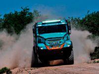 Dakar 2017'de İki Iveco Aracı İlk 5'e Girdi