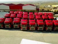 Hüner Lojistik ve HNR Lojistik'e 60 Adet Scania R 450