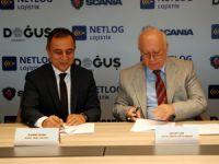 Scania ve Netlog Arasında 100 Araçlık Anlaşma
