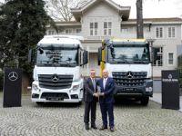 Özbaylar Petrol Filosuna 150 Adet Mercedes Benz Kamyon ve Çekici Ekledi