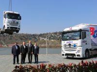 Mercedes Benz Türk'ten Barsan Global Lojistik'e 500 Adetlik Rekor Teslimat