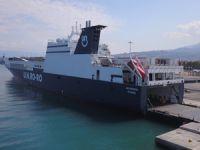 U.N. Ro-Ro Pendik' ten Patras'a Sefer Başlattı