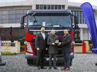 Türkiye'nin En Hafif Volvo Trucks Çekicisi Hicri Ercili İçin Özel Üretildi