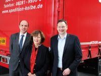 Bavarian Minister for Construction and Transport, Dr. Hans Reichhart, visits Kögel
