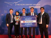 Turkish Cargo Incheon Uluslararası Havalimanı Tarafından Ödüllendirildi