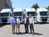 Iveco'dan Alltrak Taşımacılık'a 5 Adet Stralis Çekici Teslimatı