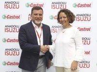 Anadolu Isuzu Araçlarında Castrol'ü Tercih Ediyor