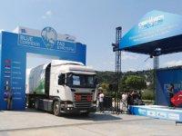 Scania Mavi Koridor Rallisi'ne CNG'li Modeli İle Katıldı