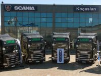 Çamsan Nakliyat Filosuna 10 Adet Scania Çekici Kattı