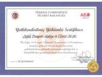 Sağlık Lojistik AEO – Yetkilendirilmiş Yükümlü Sertifikası Aldı