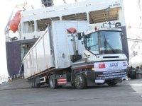 Onlarca UND Yardım TIR'ı Hırvatistan'a Yola Çıktı