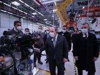 Sanayi ve Teknoloji Bakanı Varank Ford Otosan Kocaeli Fabrikaları'nı Ziyaret Etti