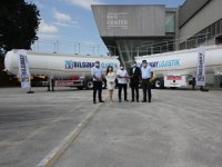 Tırsan Bilginay Lojistik'e 15 Adet K.STB 5K Akaryakıt Tankeri Teslim Etti