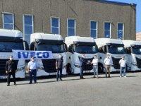 IVECO'dan Bulung Lojistik'e 11 adet S-WAY Çekici